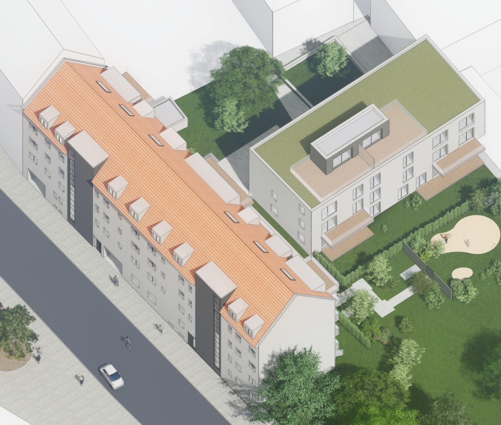 Neubauprojekt Pfeuferstraße
