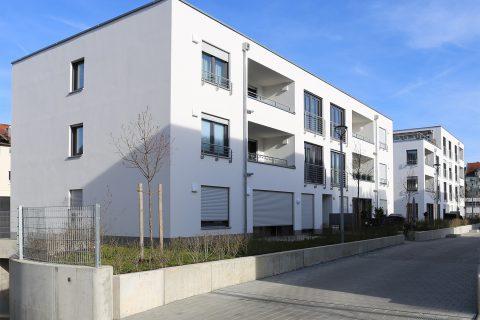 Moderne Wohnanlage am Katharinenhof / Nürnberger Straße in Bamberg